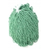 Seedbead 10/0 Metallic Mint Green Matte Terra Colour Strung